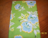 Heather Bailey Nicey Jane Church Flowers in Green 1 yd