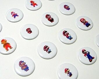 The Evolution of Mario Magnet Set