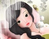 "Open Edition Print of ""Sleeping Beauty"""