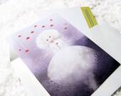 Mon Amour Postcard