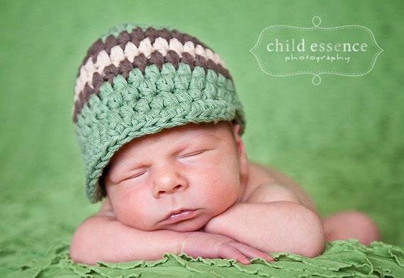 Newborn Baby Boy Hat Newborn Hat Boy Olive Green Baby Hat Brown Khaki Baby Boy Clothes Baby Boy Cap Hospital Hat Photo Prop Photography Prop