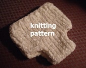 Diaper Cover Knitting Patterns, PDF Number 107 & 108 -- for Newborn Photo Prop -- Over 10,000 patterns sold