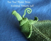 Pea Pod Photo Prop Knitting Pattern for Newborn Photography, PDF 112 -- INSTANT DOWNLOAD -- Over 16,000 patterns sold