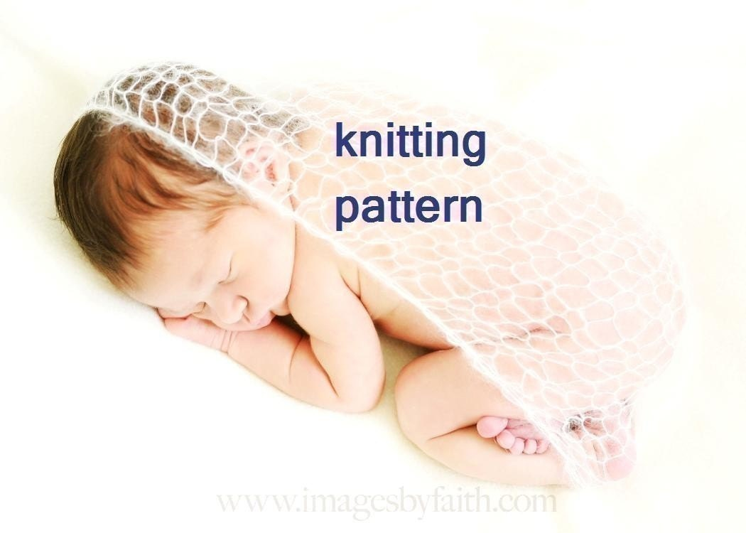 Lacy Baby Wrap Knitting Pattern PDF 104 INSTANT DOWNLOAD ...