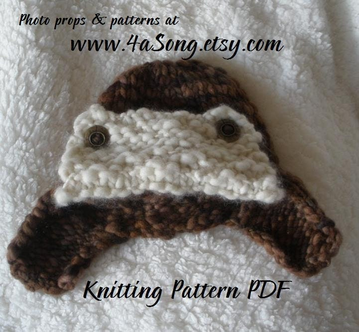 Knit Hat Ear Flaps Pattern – Catalog of Patterns