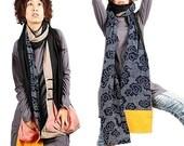 Blue cloud 2 - scarf vest (many ways to wear) P1006