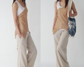 Quiet Summer - cotton tank and vest set (Y1205)