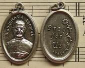 "4 Saint Josemaria Escriva Medals - Patron Saint of Diabetics and ""The Ordinary"""