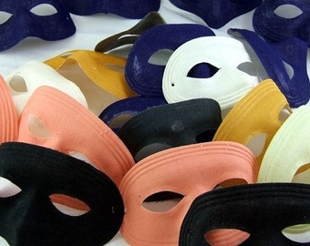 Grab Bag of 3 Vintage Fabric Masks (with New Elastics)
