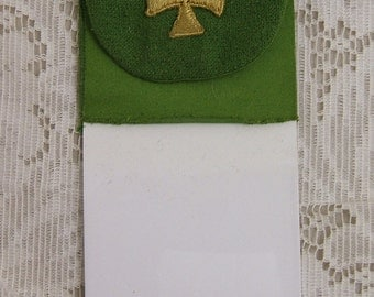 Vintage Embroidered Pocket Cross for Clergy or Anyone Else - Great for Altered Art or a Quilt, too