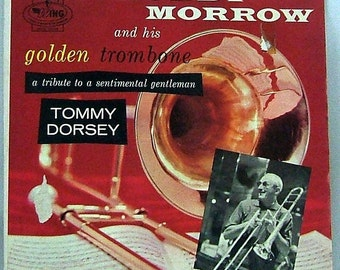 A Tribute to a Sentimental Gentleman (Tommy Dorsey) - Buddy Morrow and his Golden Trombone - Vintage Vinyl LP Record