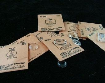 Vintage Plastic Watch Crystals in Original Paper Envelopes - Buy More, Save More - Buy 1, 5, 10, 25 or 100 - BULK
