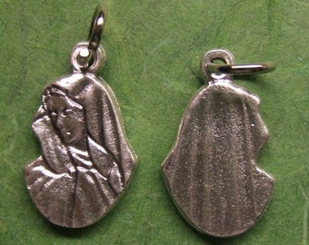 Small Mater Dolorosa Charm or Medal