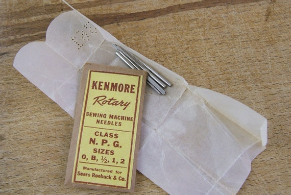 kenmore sewing machine needles colors