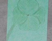 For Luck - An ACEO original drawing PIF