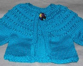 Baby Cardi Sweater with MODNARoS button SALE