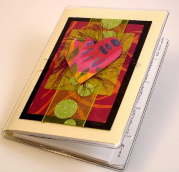 Hearts Internet Password Book