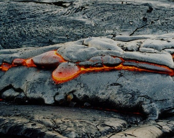 Lava Turtle Kilauea Volcano Photography Big Island Hawaii - Nature Photography - Fine Art Photo Hawaiian Landscape - Black Lava Turtle Rock
