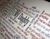Personalized  Word art Your quotes on canvas your phrases , quotes or memories on large typography canvas 20X30