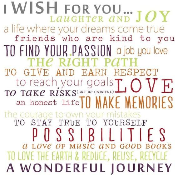 Wish For Child Nursery Kids Room Print By Geezeescustomcanvas