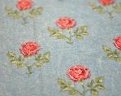 1 Yard Plus Shabby Chic Roses Fabric 20 x 46