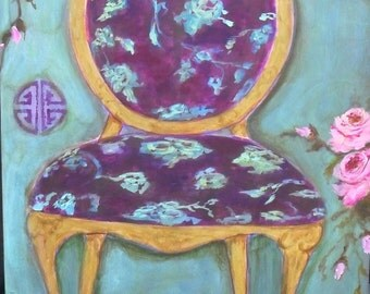 Purple Chair (print)