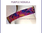 PURPLE NEBULA PATTERN