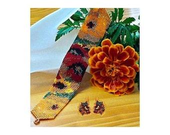 Marigold Garden Pattern Set