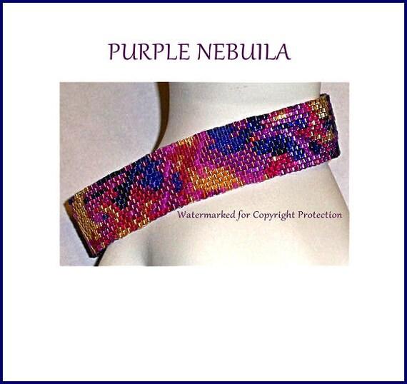 PURPLE NEBULA PATTERN