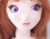 SALE Claudia - One of a kind handmade art doll