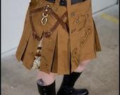 Steampunk Adventure Skirt (Short)