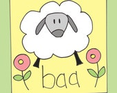 Sheep says baa