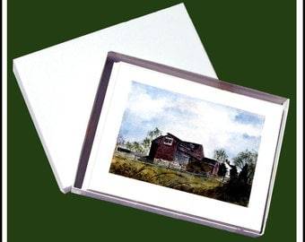 JUST BARNS Blank Fine Art Note Card Assortment