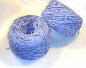 Periwinkle Bulky Chenille Yarn 1195YPP 2 Lg. Balls 8oz Total
