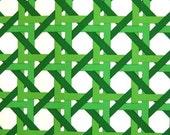 green trellis vintage wallpaper