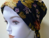 Warm Soft Flannel Cancer Scarf Chemo Hat Hair Loss Headwrap Turban Alopecia