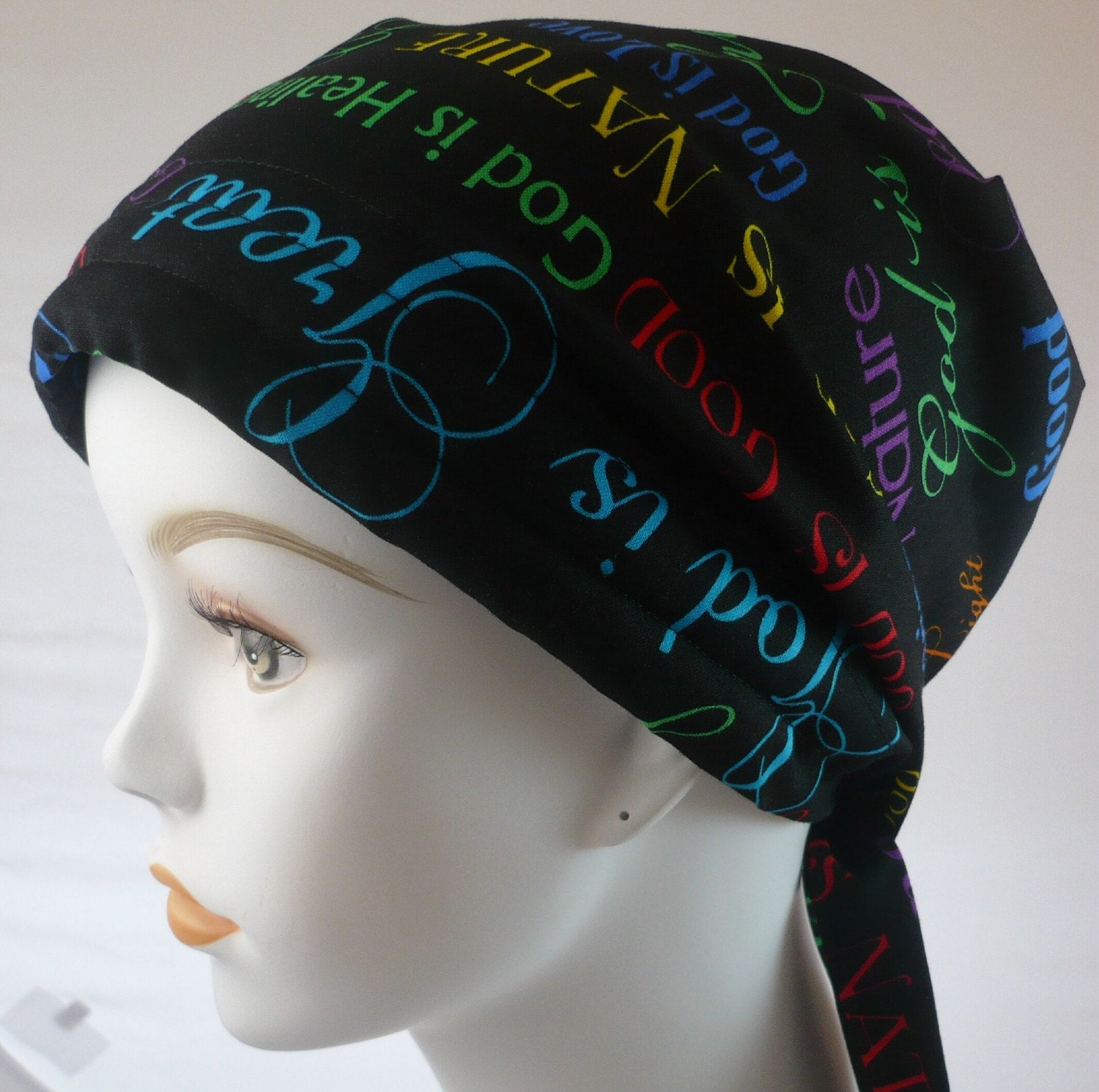 cancer hat chemo scarf turban wrap hair by
