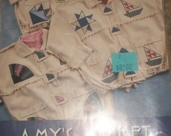 Amy's Jacket -sewing pattern  by Indygo Junction