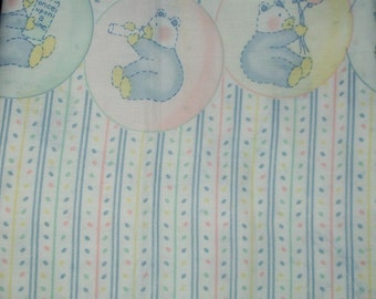 Baby Child  Border pastel print