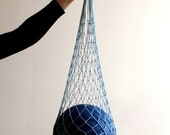 Slate Gray Eco Friendly Shopping Net Bag, Great for  go to the beach, shopping, hold dirty clothes, toys, beach accessories