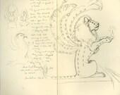 Custom Sketch Commission 9x12