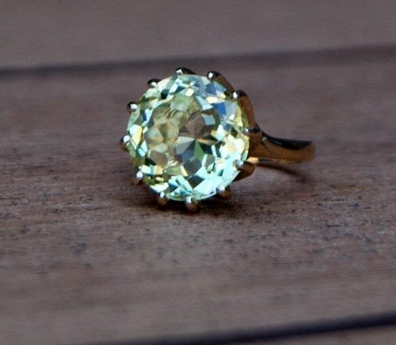 Fall Chrysanthemum 14k gold ring setting ONLY