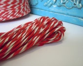 Luxurious Bakers Twine Red & White