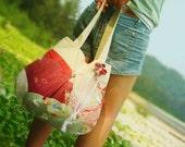 Japanese Bunny in Garden - Handbag