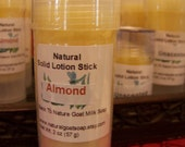 Almond Lotion Stick 2 oz