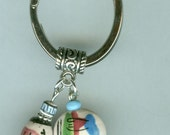 LLAMAS Key Ring, Keyring, Key Chain, Keychain