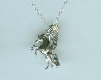 Sterling PEGASUS Pendant and Chain