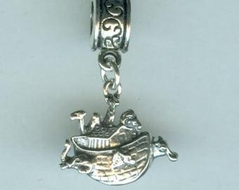 Sterling NOAHS ARK Bead Charm for all Name Brand Add a Bead Bracelets