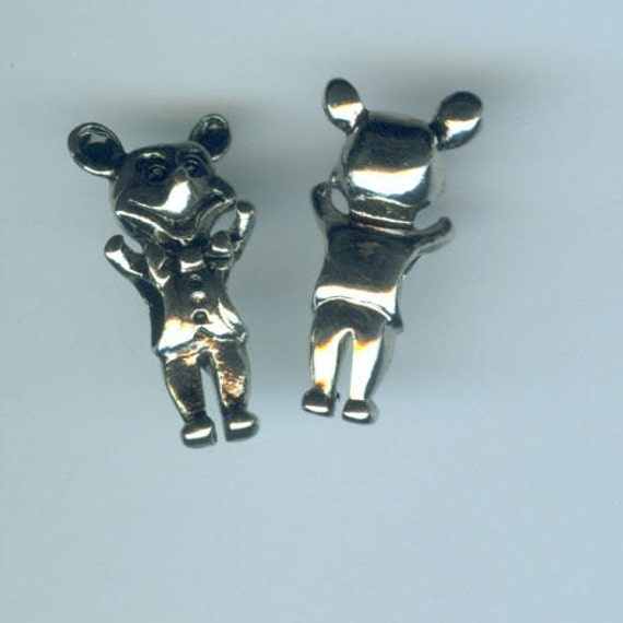 Mickey Mouse Charm Bracelet: 6 Silver MICKEY MOUSE Bead Charms For Pandora By ShymaliLlamas
