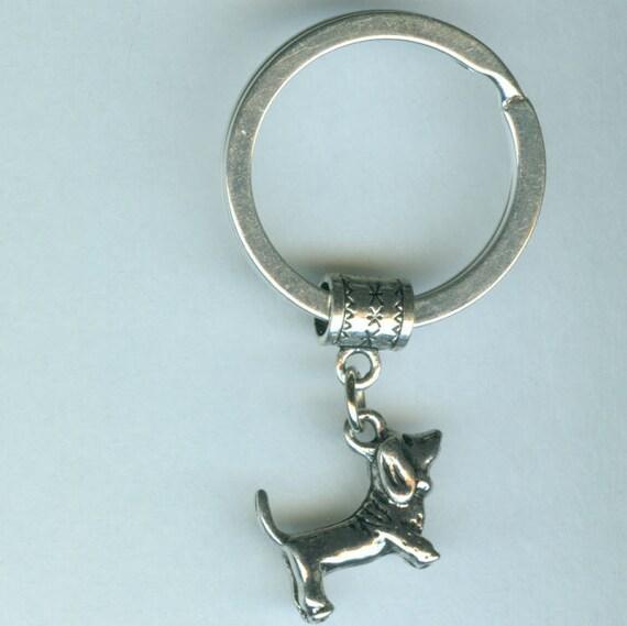 BASSETT HOUND DOG  Key Ring, Key Chain -